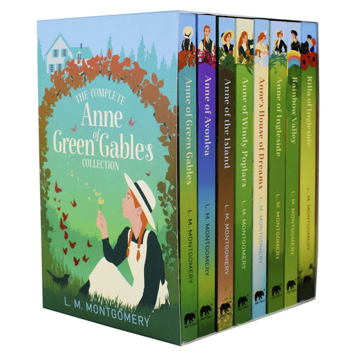 9-14 - Anne Of Green Gables 8 Books - Ages 9-14 - Paperback Box Set By L. M. Montgomery
