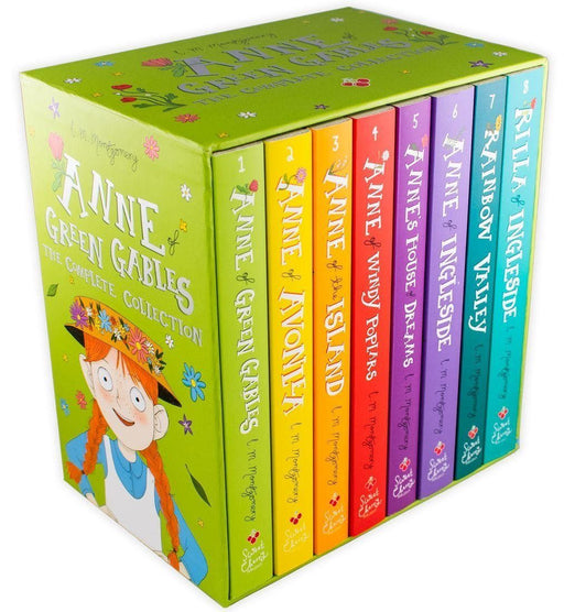 Anne of Green Gables The Complete 8 Book Collection - Ages 9-14 - Paperback - Lucy Maud Montgomery 9-14 Sweet Cherry Publishing