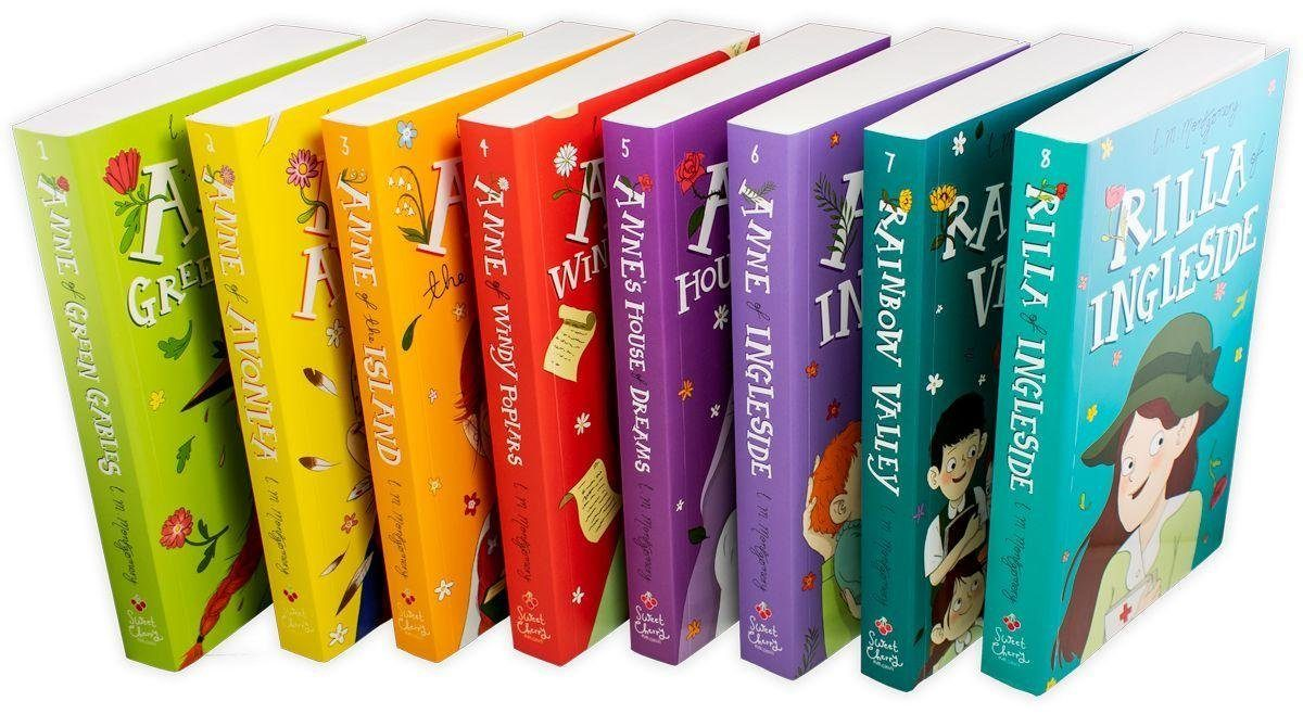 Anne of Green Gables The Complete 8 Book Collection - Ages 9-14 - Paperback - Lucy Maud Montgomery - Books2Door