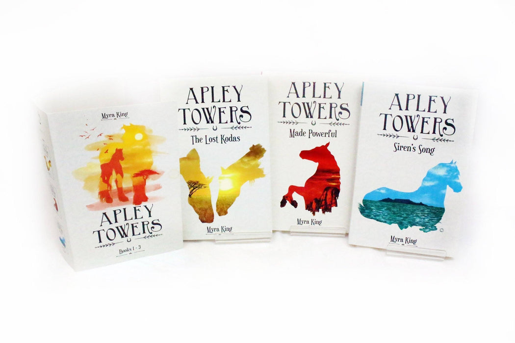 Apley Towers Complete Collection 6 Book Set - Ages 9-14 - Paperback - Myra King - Books2Door