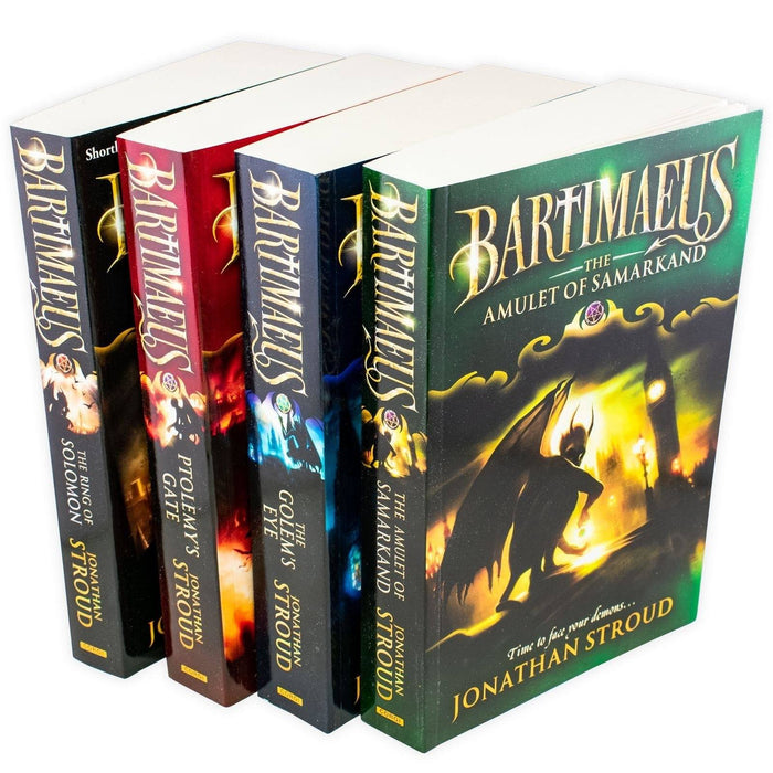 Bartimaeus Sequence 4 Book Collection - Ages 9-14 - Paperback - Jonathan Stroud - Books2Door