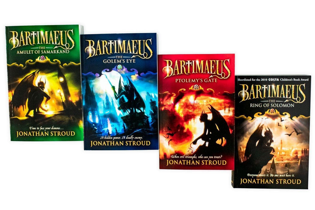 Bartimaeus Sequence 4 Book Collection - Ages 9-14 - Paperback - Jonathan Stroud 9-14 Corgi Books (Penguin Random House UK)