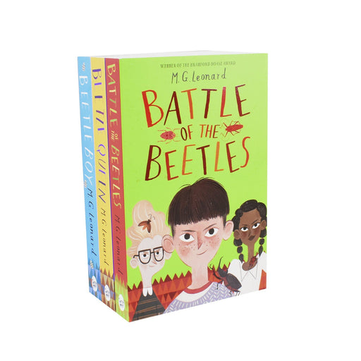 9-14 - Battle Of The Beetle 3 Books Collection By M G Leonard- Ages 9-14 – Paperback