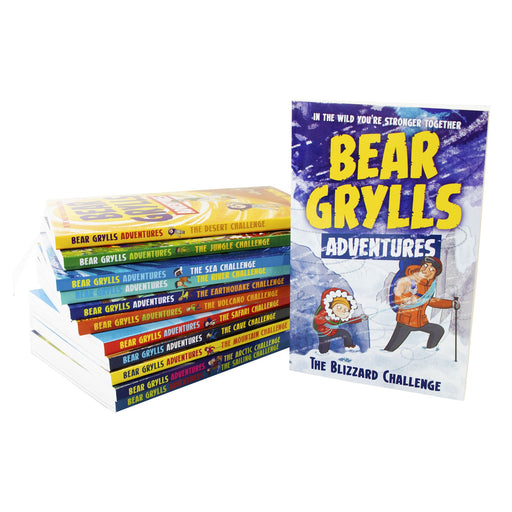 9-14 - Bear Grylls Adventure 12 Books - Ages 9-14 - Collection Paperback