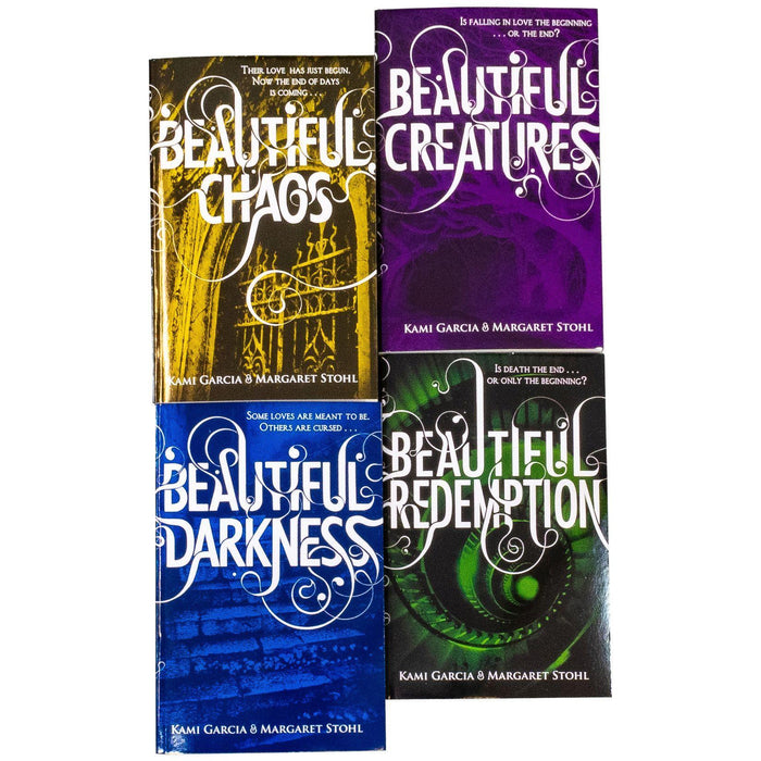 Beautiful Creatures 4 Books - Ages 9-14 - Paperback - Kami Garcia - Books2Door