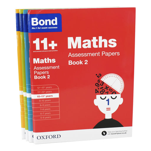 9-14 - Bond 11+ Assessment Papers Book 2, English, Maths, Verbal For Age 10-11+ Years - Ages 9-14 - Paperback - Oxford