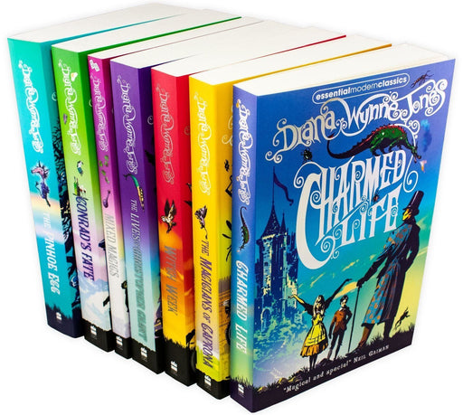 Chrestomanci Series 7 Book Collection - Ages 9-14 - Paperback - Diana Wynne Jones - Books2Door