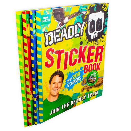 Deadly 60 Activity 4 Book Collection - Ages 9-14 - Paperback - Steve Backshall - Books2Door