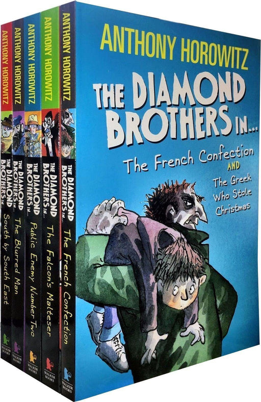 Diamond Brothers Detective Agency 5 Books Collection - Ages 9-14 - Paperback - Anthony Horowitz 9-14 Walker