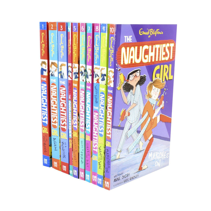9-14 - Enid Blyton Naughtiest Girl 10 Book Collection - Paperback - Age 9-14