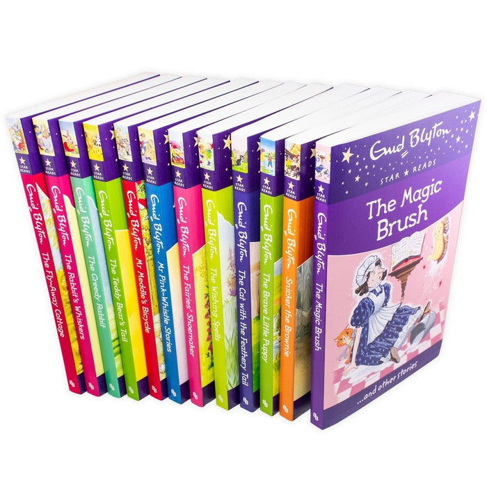 Enid Blyton Star Reads 12 Book Collection - Ages 9-14 - Paperback - Books2Door