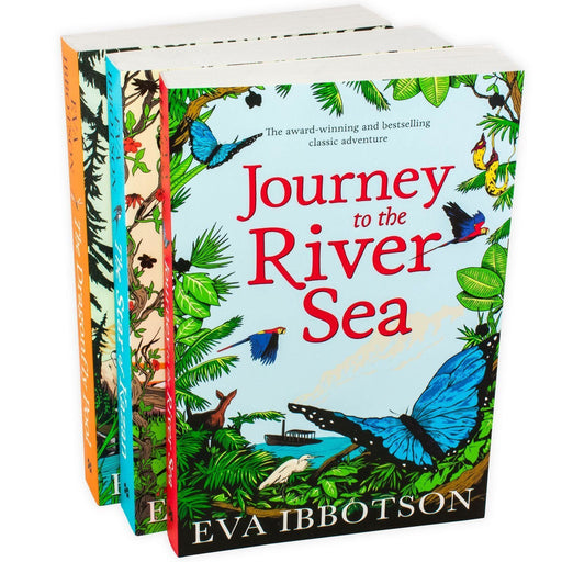 Eva Ibbotson 3 Book Collection - Ages 9-14 - Paperback 9-14 Pan Macmillan