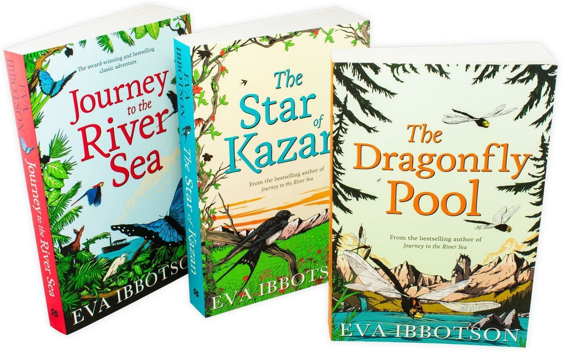 Eva Ibbotson 3 Book Collection - Ages 9-14 - Paperback - Books2Door
