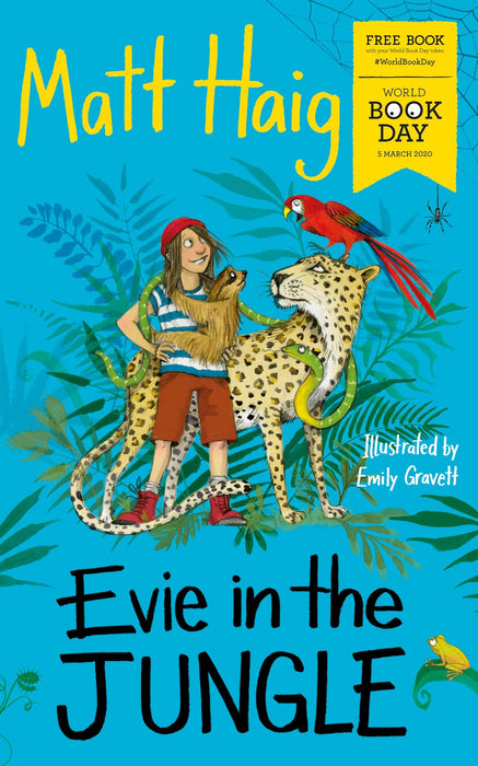 Evie in the Jungle WBD 2020 - Ages 9-14- Paperback By Matt Haig - Books2Door