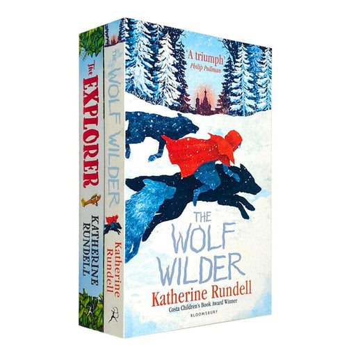 9-14 - Explorer & The Wolf Wilder 2 Books - Ages 9-14 - Children Set Paperback By Katherine Rundell