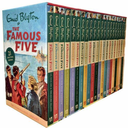 Famous Five 21 Books Box Set - Ages 9-14 - Paperback - Enid Blyton - Books2Door