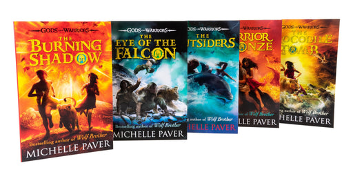 Gods and Warriors Series Collection 5 Books Set - Ages 9-14 - Paperback - Michelle Paver 9-14 Puffin