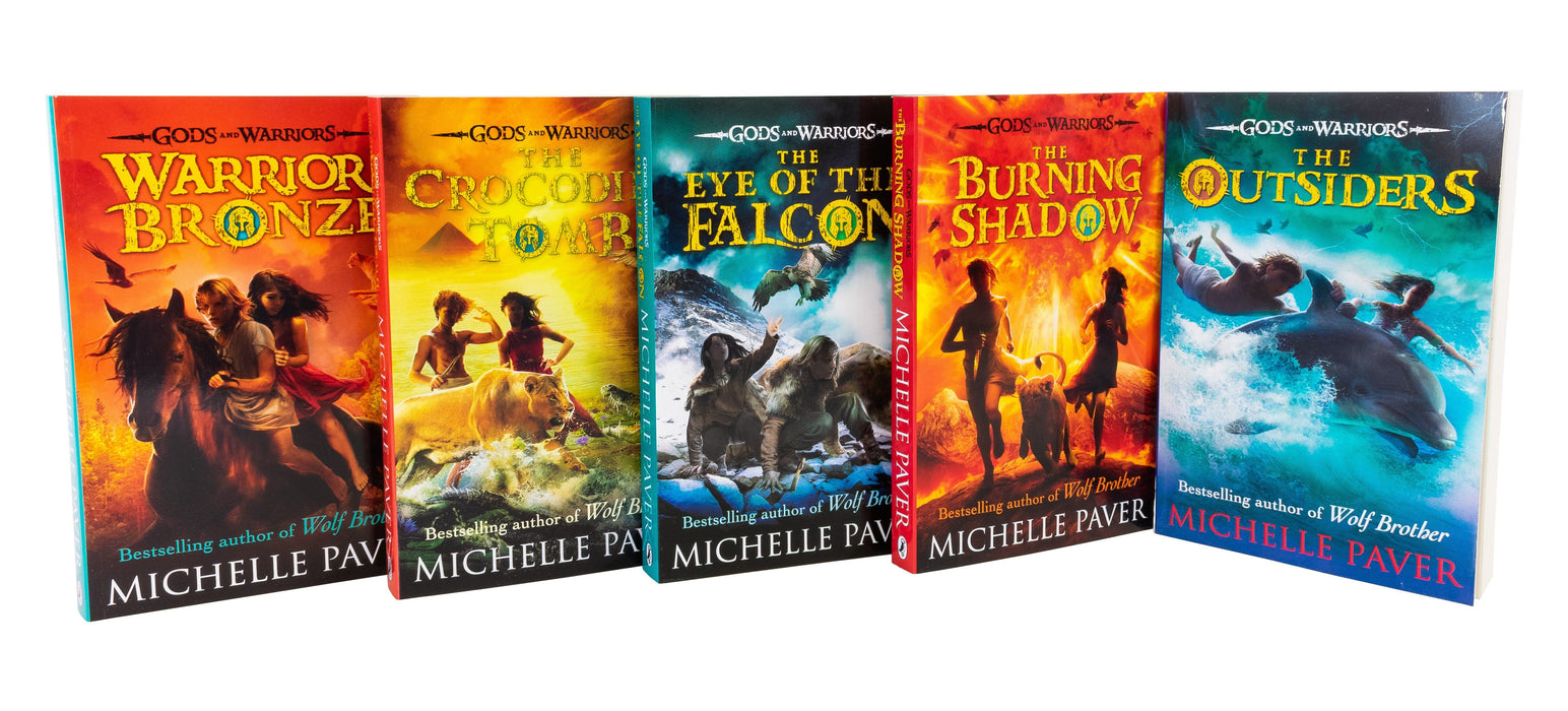 Gods and Warriors Series Collection 5 Books Set - Ages 9-14 - Paperback - Michelle Paver - Books2Door