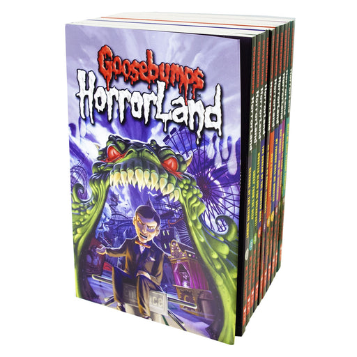 9-14 - Goosebumps Horror Land 10 Books Collection - Horror Fiction - Paperback - R. L. Stine