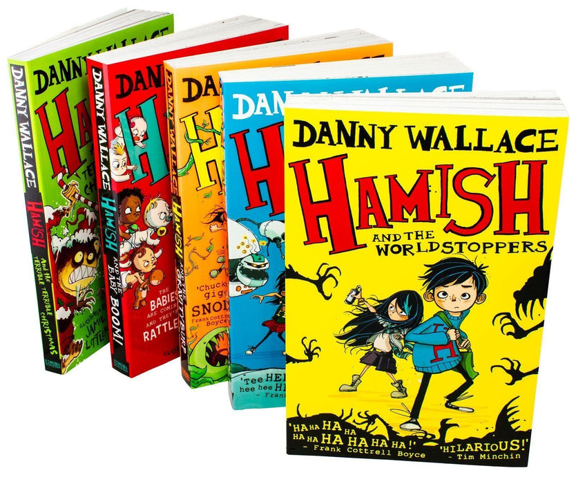 Hamish 5 Book Collection - Ages 9-14 - Paperback - Danny Wallace - Books2Door