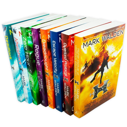 Higher Institute of Villainous Education (H.I.V.E) 8 Books Collection - Fiction - Paperback - Mark Walden - Books2Door