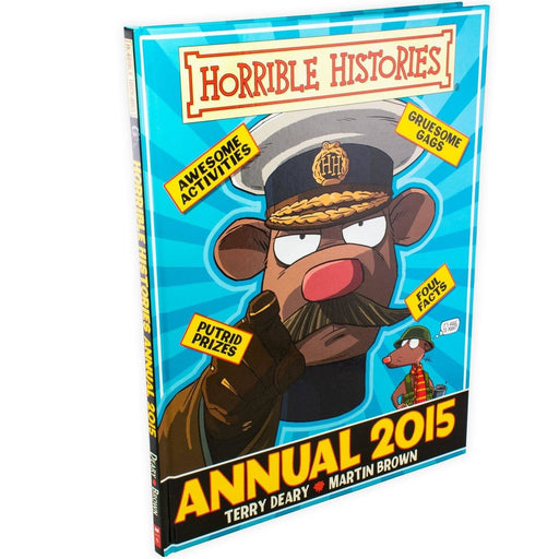 Horrible Histories Annual 2015 - Hardback - Terry Deary - Books2Door
