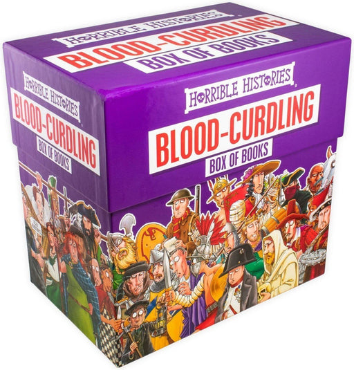 Horrible Histories Blood Curdling 20 Books Collection - Ages 9-14 - Paperback - Terry Deary - Books2Door