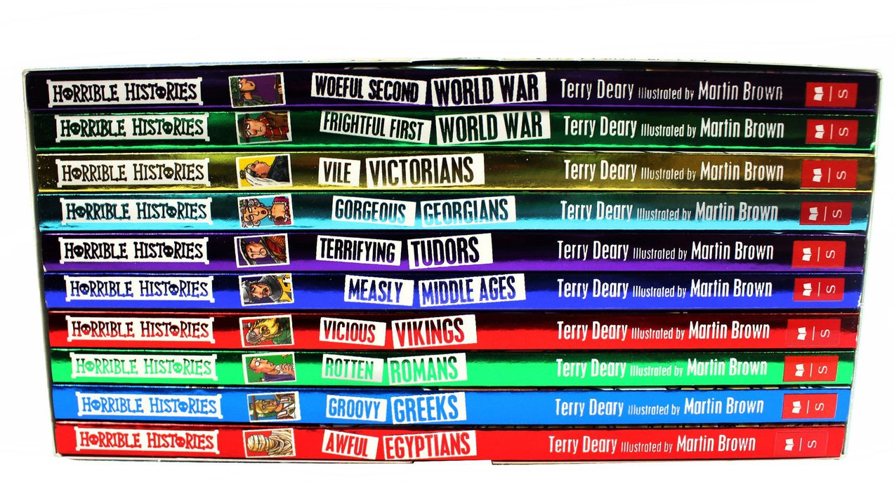 Horrible Histories Collection 10 Beastly Books - History - Paperback - Terry Deary - Books2Door