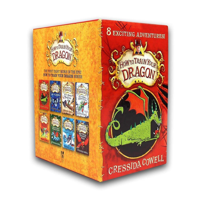 How To Train Your Dragon 8 Books Collection - Books2Door