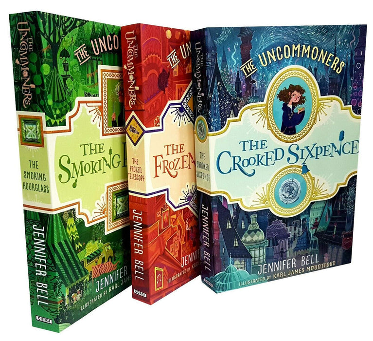 9-14 - Jennifer Bell The Uncommoners Series 3 Books Set - Ages 9-14 - Paperback