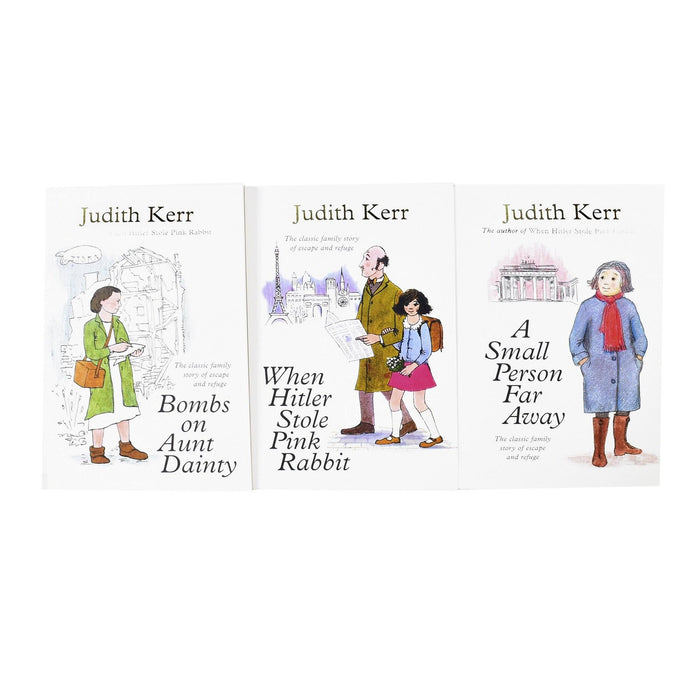 9-14 - Judith Kerr 3 Books Set – Ages 9-14 – Paperback