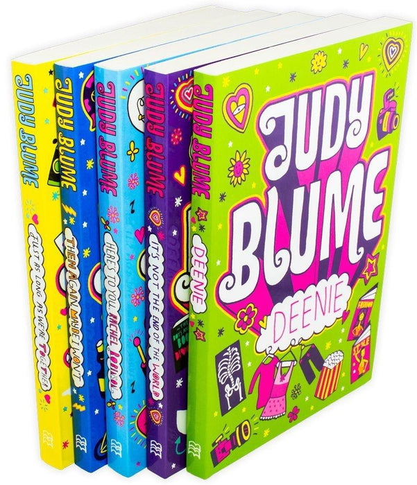 Judy Blume 5 Book Children Collection - Ages 9-14 - Paperback - Books2Door