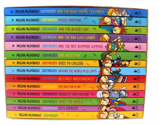 Judy Moody 14 Book Collection Box Set - Ages 9-14 - Paperback - Megan McDonald - Books2Door