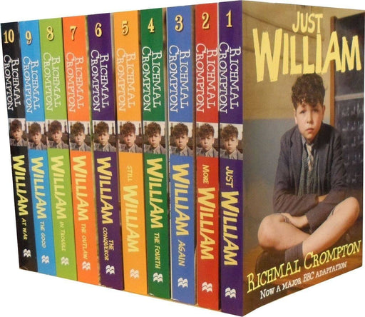 Just William 10 Book Collection Set - Fiction - Paperback - Richmal Crompton - Books2Door