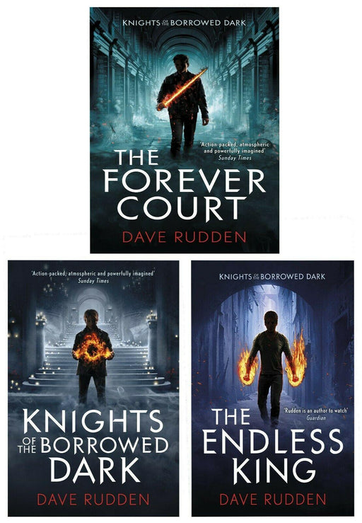 Knights of the Borrowed Dark 3 Books - Ages 9-14 - Paperback - Dave Rudden - Books2Door