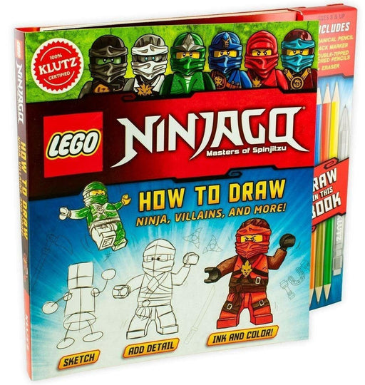Lego Ninjago Master of Spinjitzu: How to Draw - Ages 9-14 - Paperback - Pat Murphy - Books2Door