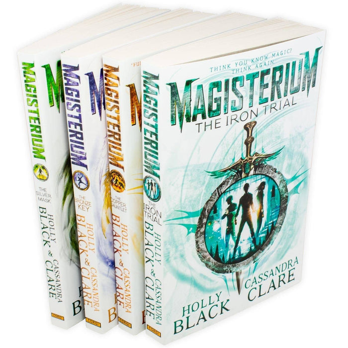 Magisterium 4 Book Collection - Ages 9-14 - Paperback - Holly Black & Cassandra Clare - Books2Door