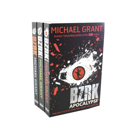 Michael Grant BZRK 3 Books Collection Set - Ages 9-14 - Paperback - Books2Door