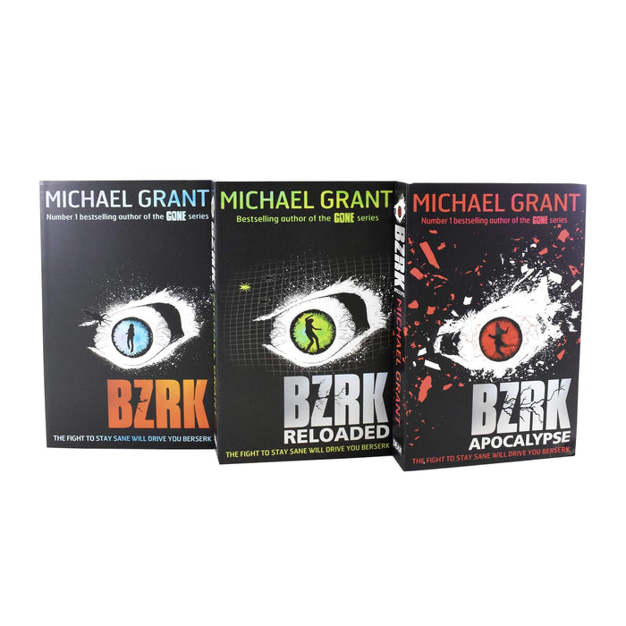 9-14 - Michael Grant BZRK 3 Books Collection Set - Ages 9-14 - Paperback
