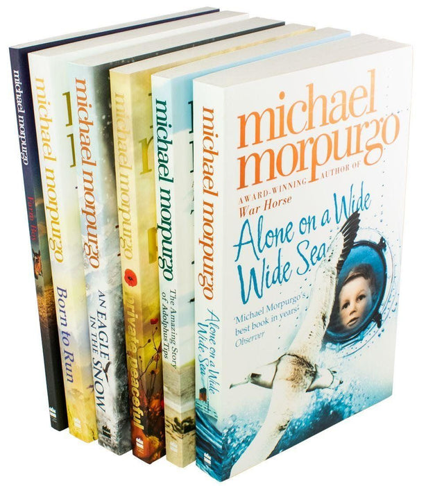 Michael Morpurgo 6 Book Collection - Set 1 - Ages 9-14 - Paperback - Books2Door