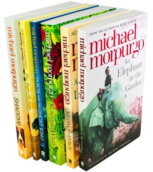 Michael Morpurgo 6 Book Collection - Set 2 - Ages 9-14 - Paperback - Books2Door