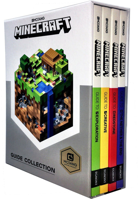 Minecraft Guide Collection 4 Books Set 9-14 Egmont