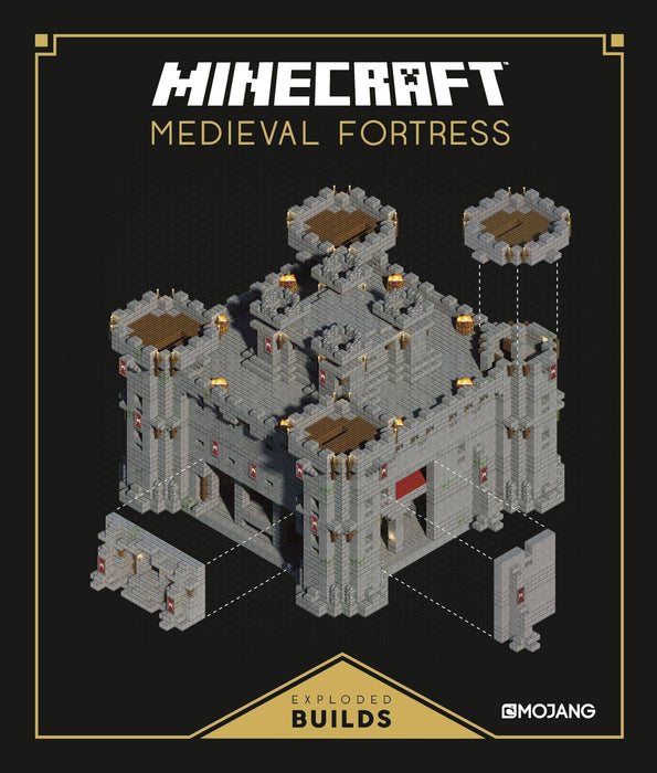 Minecraft: Medieval Fortress - Ages 9-14 - Hardback - Mojang AB - Books2Door