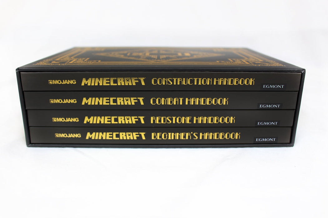 Minecraft: The Complete Handbook 4 Books - Ages 9-14 - Paperback - Mojang AB - Books2Door