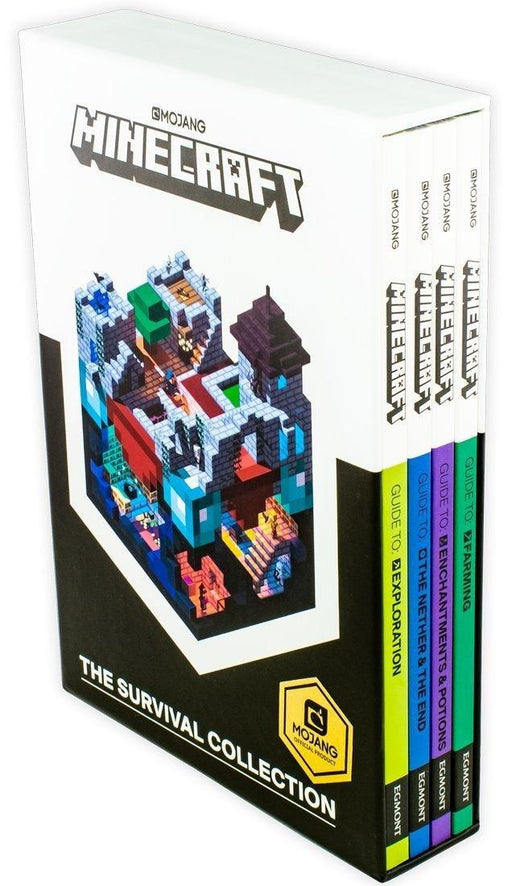 Minecraft The Survival Collection 4 Book Set - Ages 9-14 - Paperback - Alex Wiltshire - Books2Door