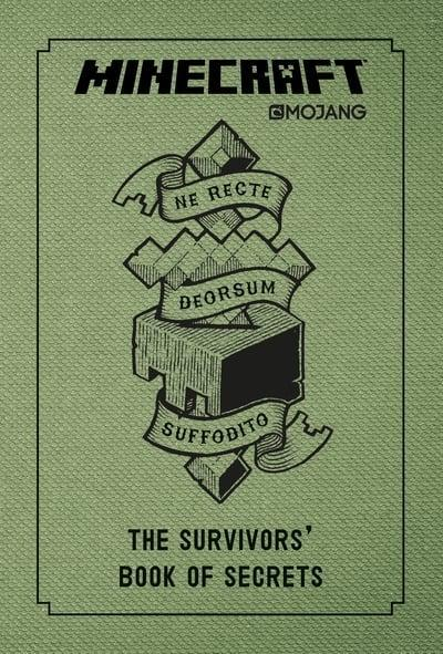 9-14 - Minecraft The Survivors' Book Of Secrets  - Age 9+ - Hardback By Mojang