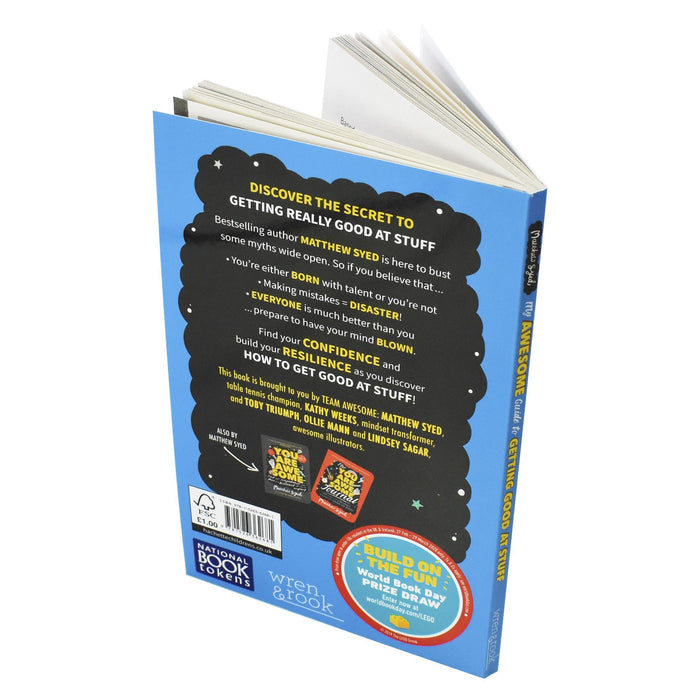 My Awesome Guide to Getting Good at Stuff WBD 2020 - Ages 9-14 - Paperback By Matthew Syed - Books2Door