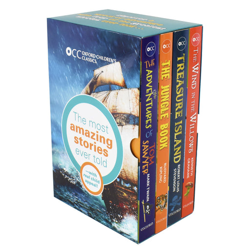 Oxford Children Classics World of Adventure 4 Books Set - Age 9-11 - Paperback 9-14 OUP Oxford