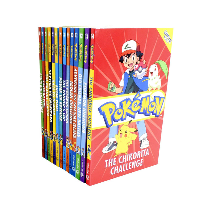 9-14 - Pokemon Ultimate Collection 14 Books Set - Ages 9-14 - Paperback - Tracey West