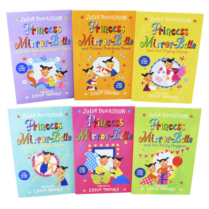 9-14 - Princess Mirror-Belle Collection 6 Books Pack Set - Ages 9-14 - Paperback - Julia Donaldson